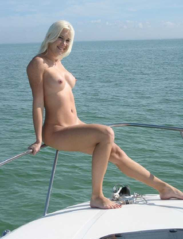 Naked On A Boat Totally Nude The Water